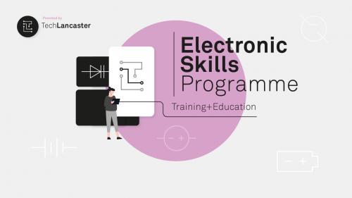 Tech Lancaster Electronic Skills Programme logo