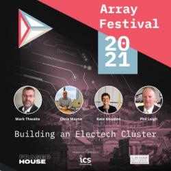 Like Technologies attend Array Festival 2021 to talk about Electech